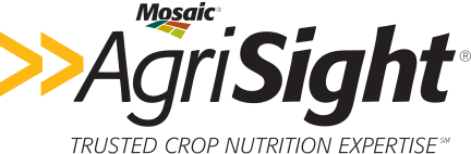 Mosaic Agrisight. Trusted Crop Nutrition Expertise.